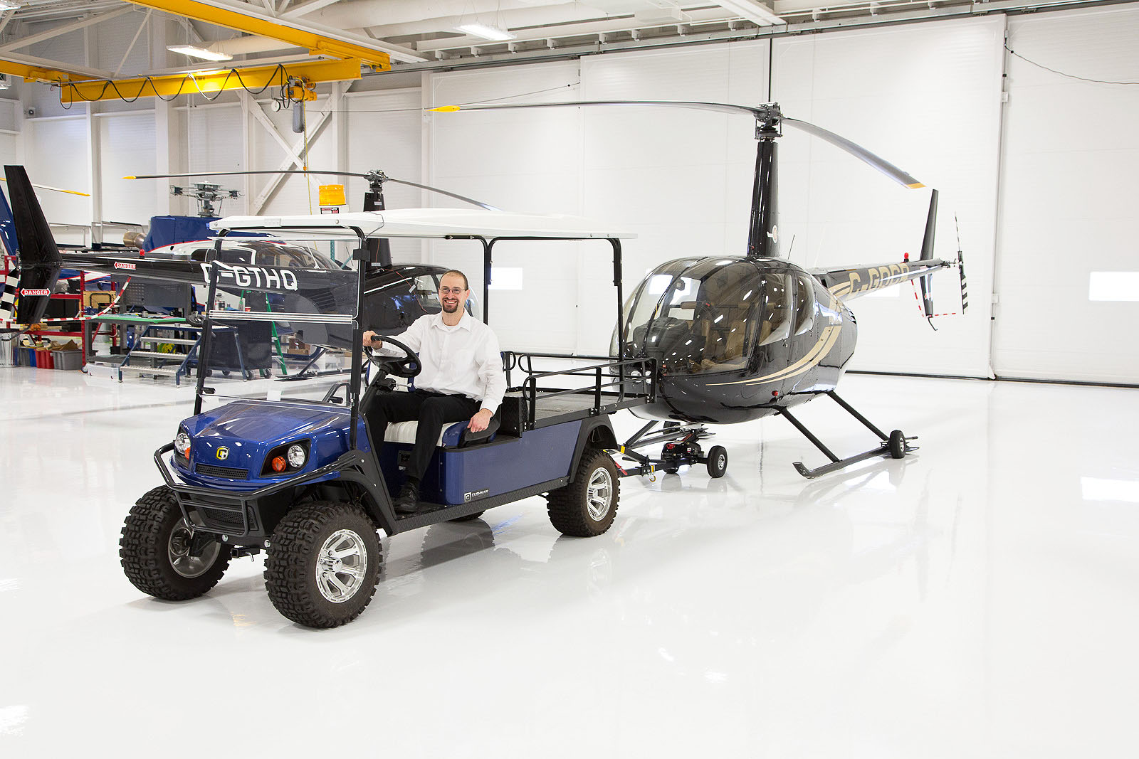 Robinson Helicopter Towbar Accessories Helitowcart Com Helicopter Moving Solutions Accessories
