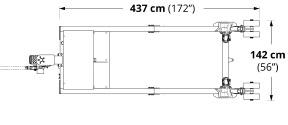 Carrier V1022 Dimensions