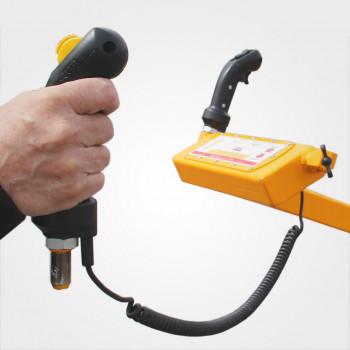 Handheld forward backward control grip